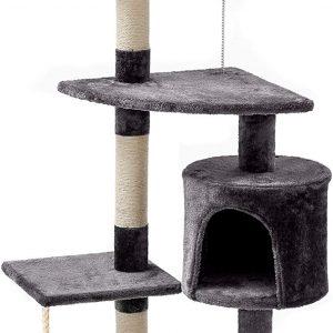 Arbre à chat avec Griffoir et tour à chats