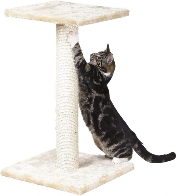 Arbre à chat en osier Beige 69 cm