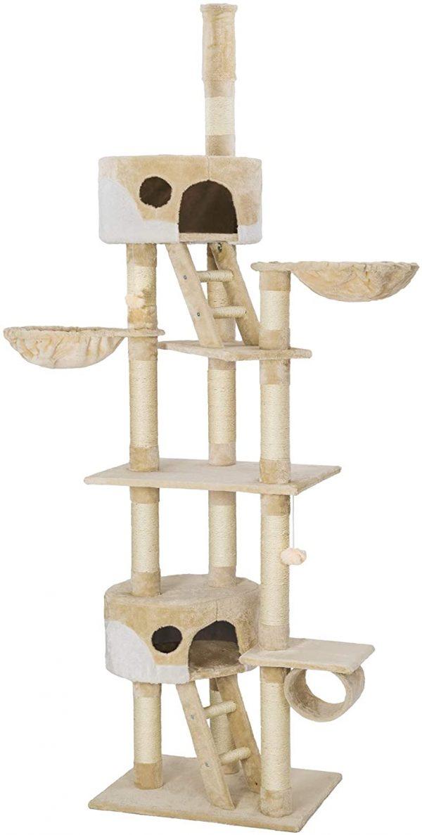 Arbre à chat XXL avec grattoir Hauteur 240-260cm