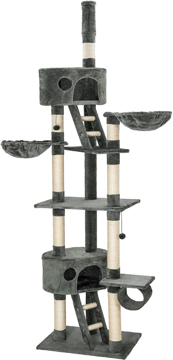 Arbre à chat XXL grattoir avec différents éléments 240-260cm