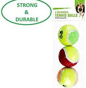 Balles de tennis solides pour chien