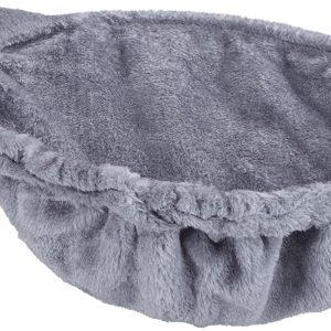 Coussin gris de rechange pour Arbre à Chats, Ø36cm, Montage Facile, Cadre en Acier