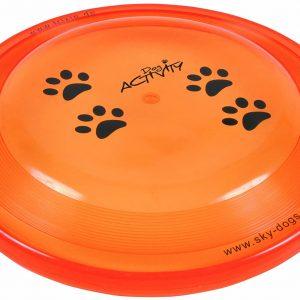 Disque jouet pour chiens 23 cm Coloris aléatoire
