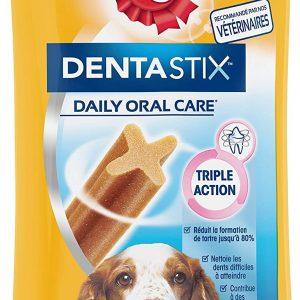 Friandises pour chien moyen bâtonnets à mâcher Pedigree Dentastix