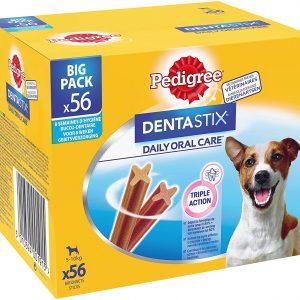 Friandises pour petit chien 56 bâtonnets Pedigree Dentastix