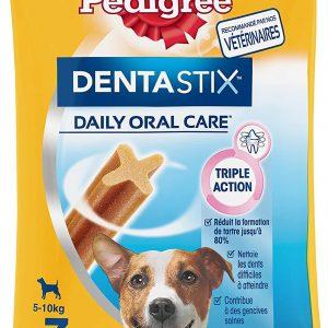 Friandises pour petit chien 70 Bâtonnets à mâcher Pedigree Dentastix