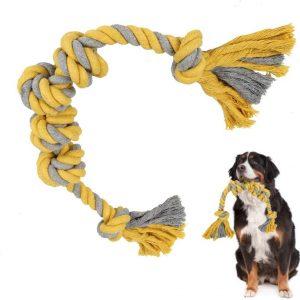 Jouet en corde pour chiens de grande Taille 6 nœuds à mâcher
