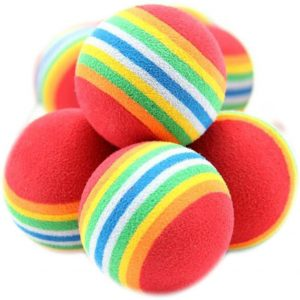 Jouet pour chat 10 Balles colorées pour chat et chaton