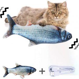 Jouet pour chat Jouet Poisson Electronique à Mâcher