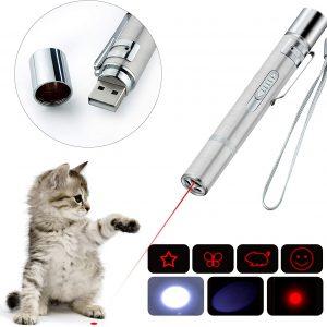 Jouet pour chat Lumière LED 7 en 1