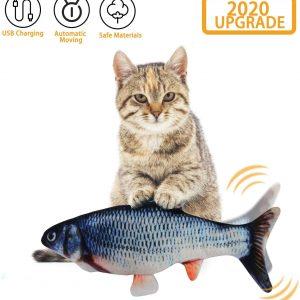 Jouet pour chat Poisson en peluche pour chaton