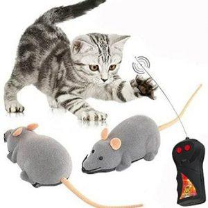 Jouet pour chat Souris avec télécommande sans fil
