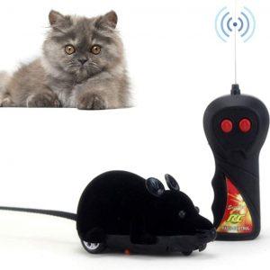 Jouet pour chat Souris télécommandée avec contrôle sans Fil