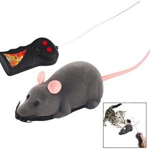 Jouet pour chat souris télécommandée intérieur extérieur