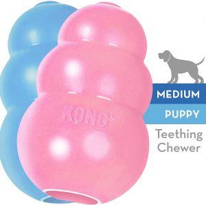 Jouet pour chien en caoutchouc naturel premières dents
