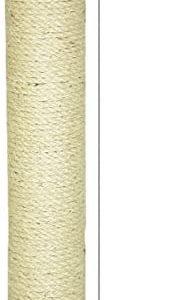 Poteau de rechange en sisal pour arbre à chat Ø 8,5 cm Longueur 45 cm